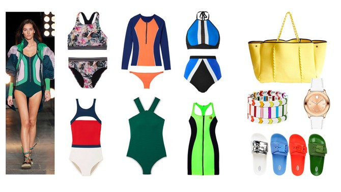 sporty swimsuits