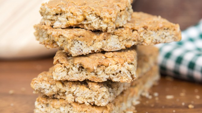 Apricot, Cashew and Coconut Bars
