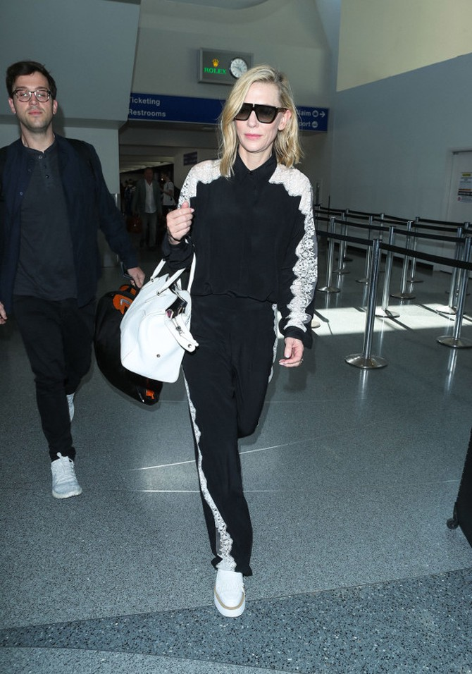 Cate Blanchett at LAX in June 2018