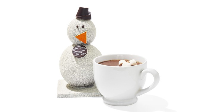 Carl the Drinking Chocolate Snowman