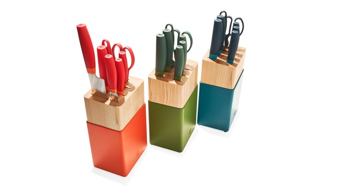 Now S Eight-Piece Knife Block Set