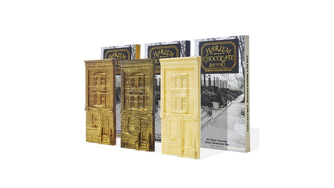 Harlem Chocolate Factory Golden Brownstone Gift Set