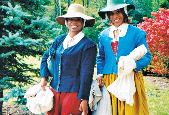 Oprah and Gayle go back in time