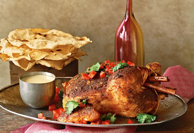 Cinnamon Curry Roasted Chicken