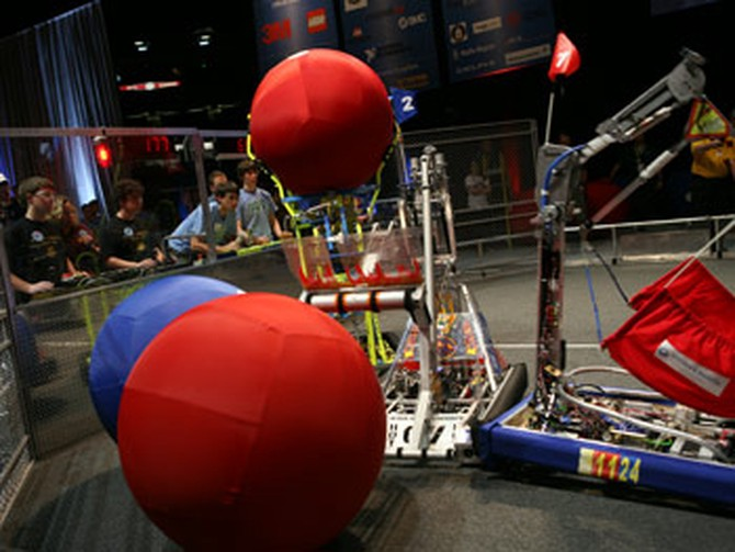 The FIRST Robot Competition