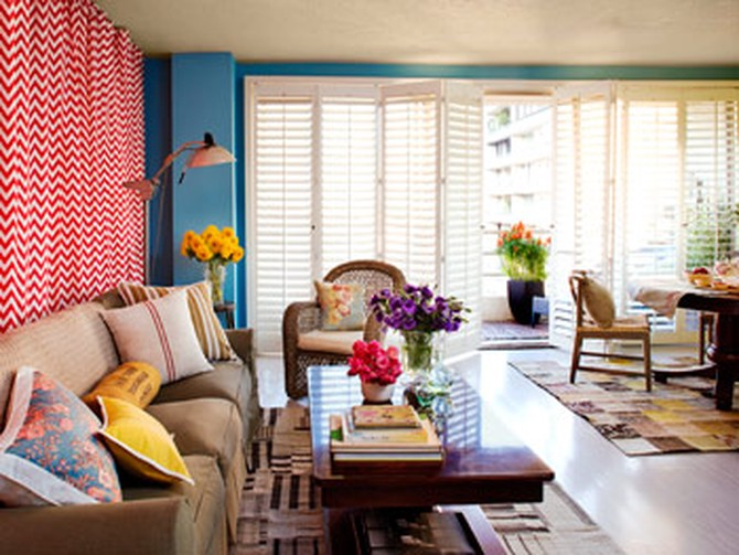 Kerry Washington's living room makeover