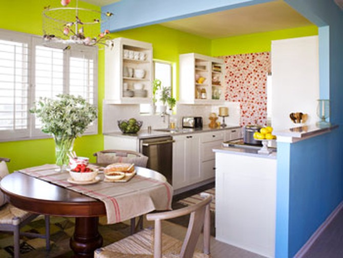 Kerry Washington's kitchen makeover
