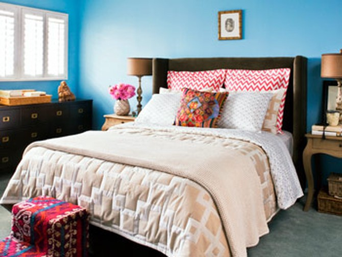 Kerry Washington's bedroom makeover