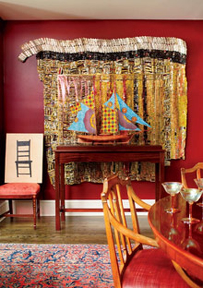 Peggy Cooper Cafritz dining room
