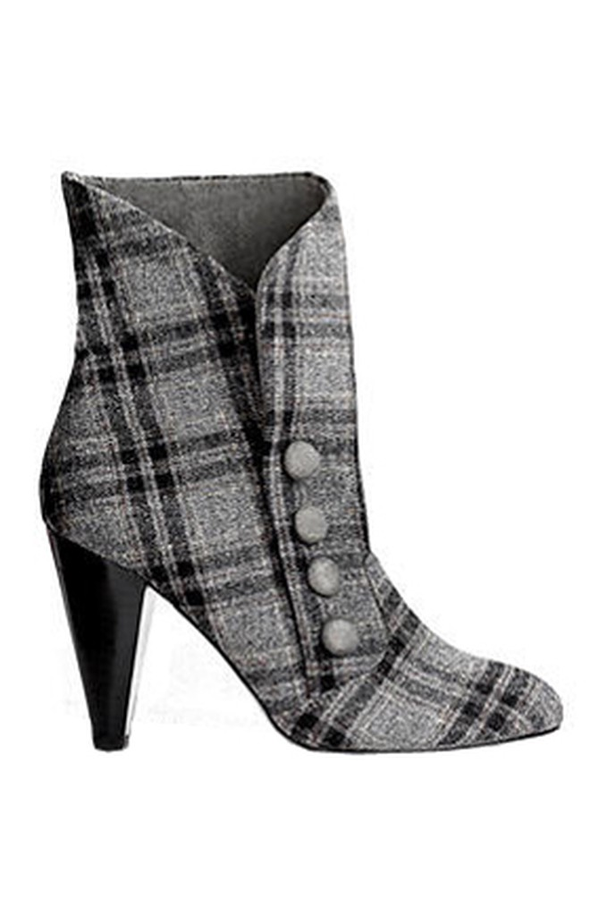 Bakers Plaid Boot