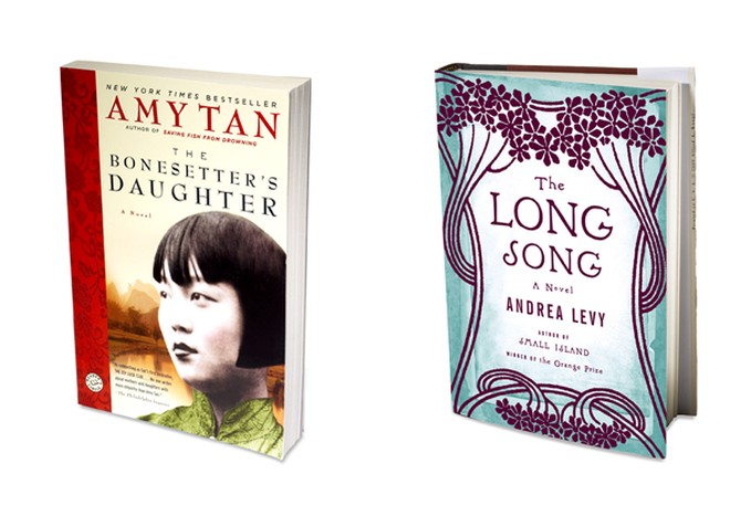 The Bonesetter's Daughter by Amy Tan and The Long Song by Andrea Levy
