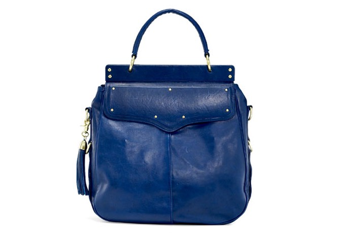 blue frame bag