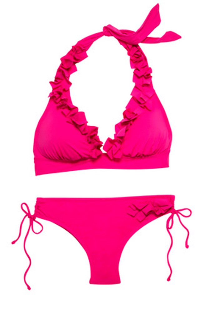 Kenneth Cole New York ruffled bikini