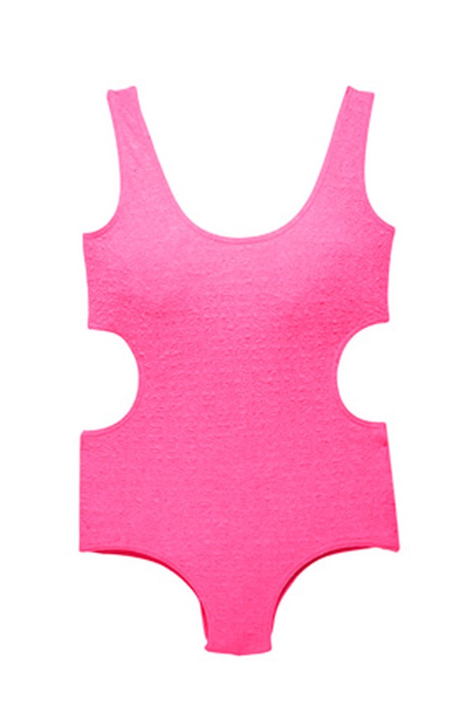 H&M one-piece swimsuit with cutout detail