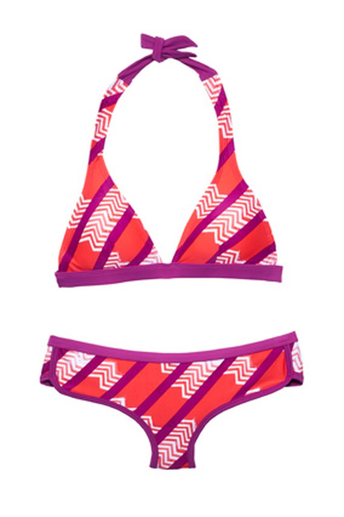 Patagonia striped bikini