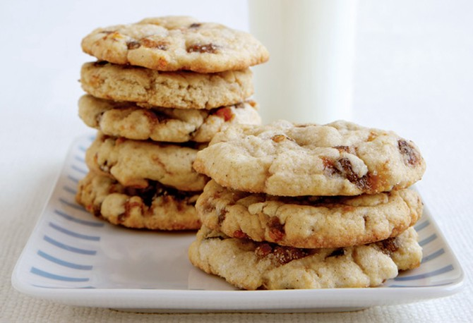 dried fruit cookies