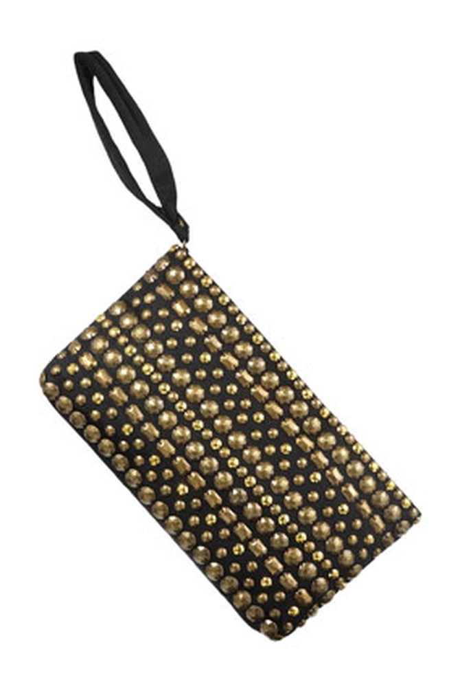 Banana Republic studded clutch