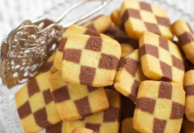 Checkerboard Cookies