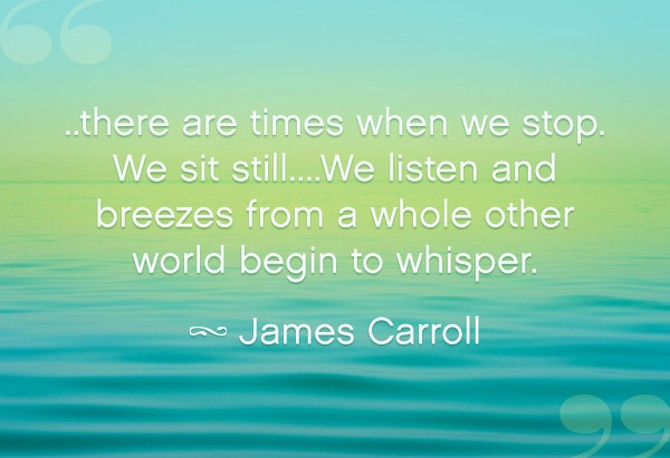 James Carroll quote