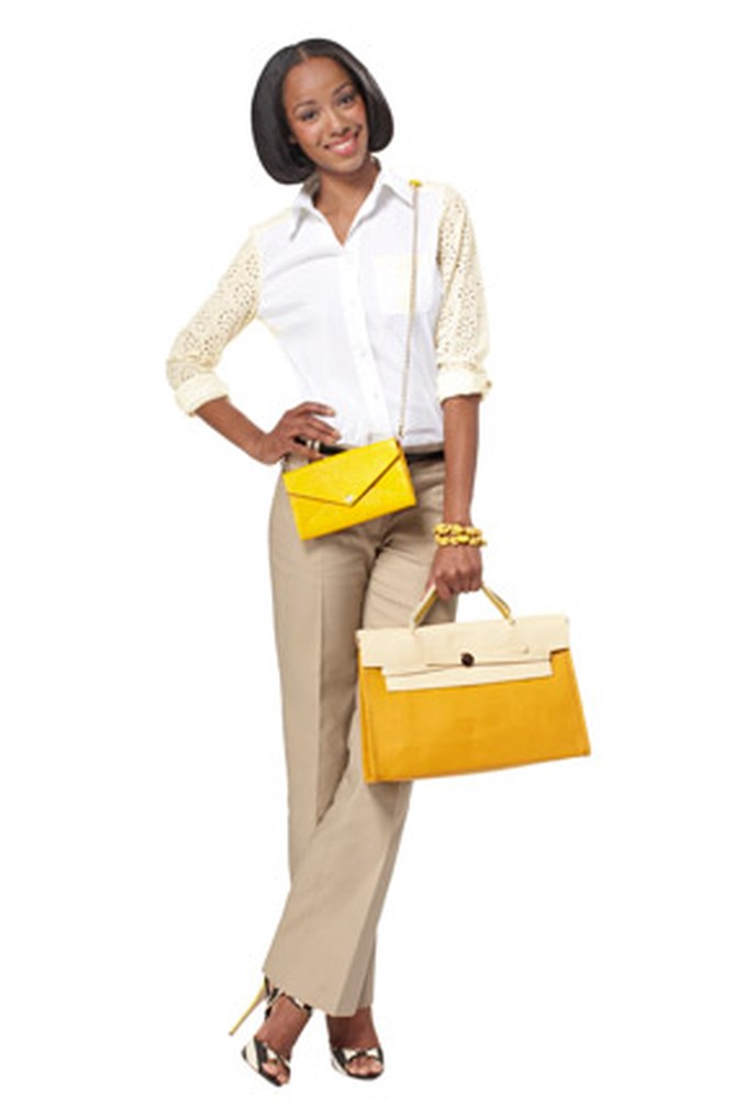 yellow accessories