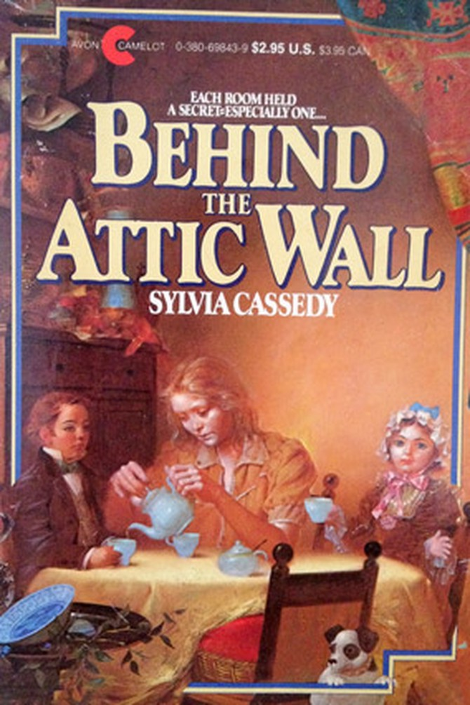 behind the attic wall sylvia cassedy