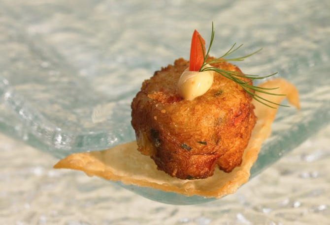 Baby Crab Cakes