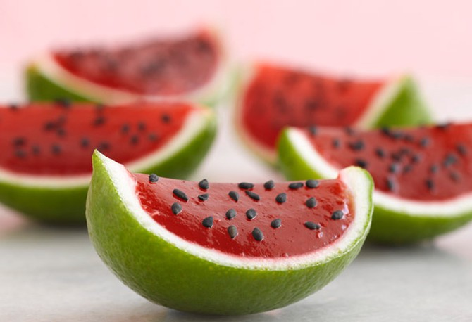 Jell-O Petite Watermelons