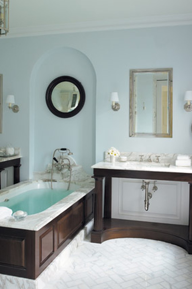 Pale-blue-and-white bathroom
