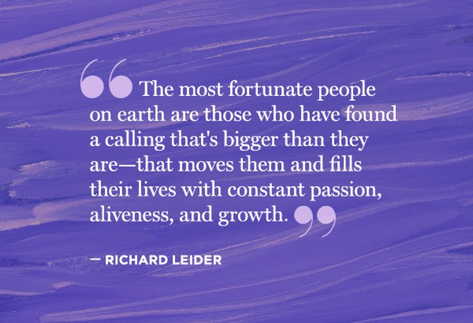 richard leider quote