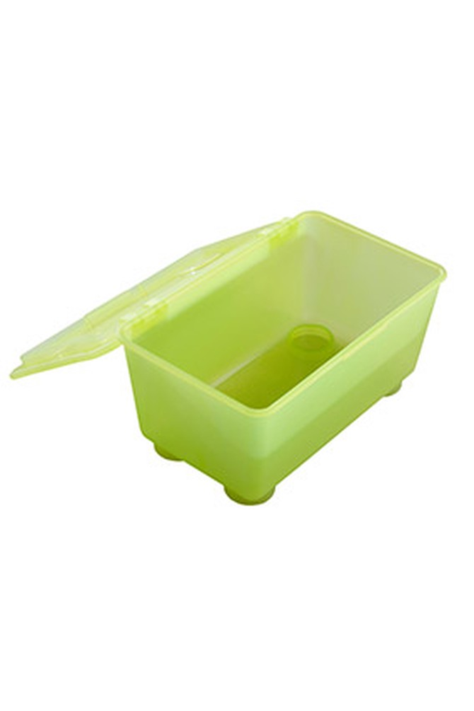 Opaque food container