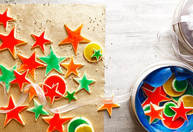Glazed Holiday Cookies
