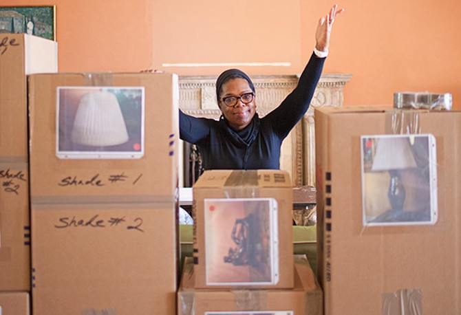 Oprah's home makeover