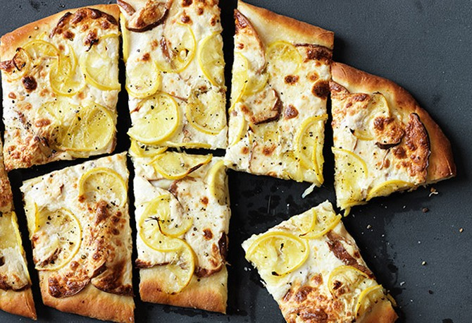 lemon pizza