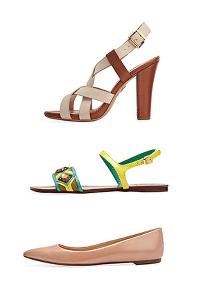 Shoes to wear with midiskirts