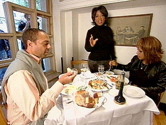 Oprah, Gayle King and Andre