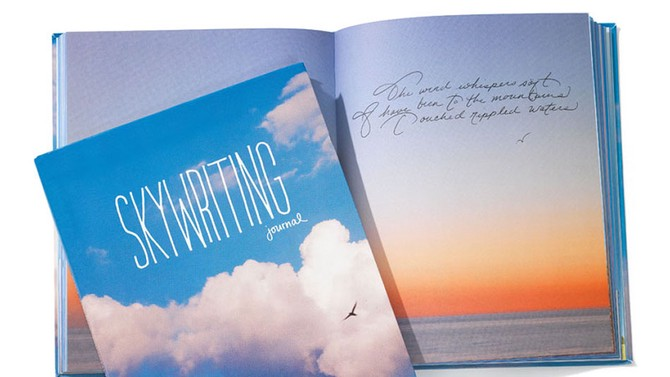 Quirk Books Skywriting Journal