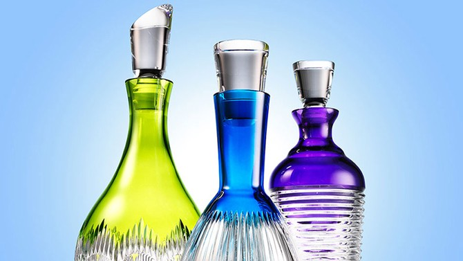 Colorful Decanters