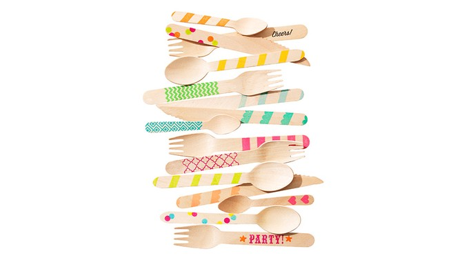 Birchwood Ice Cream Spoons and Utensils Variety Packs