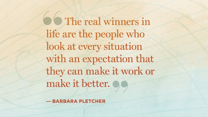 barbara pletcher quote