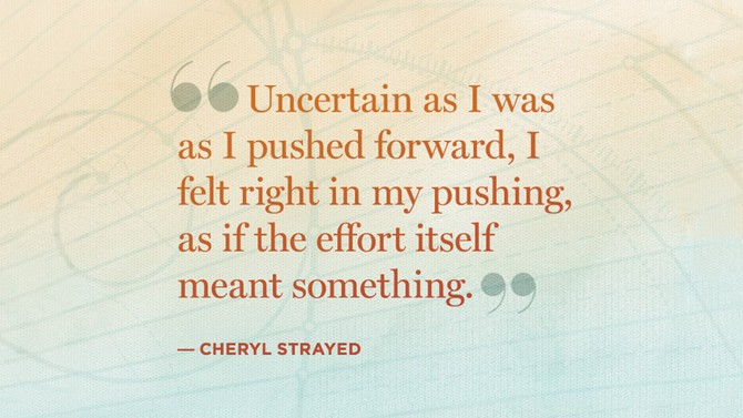 cheryl strayed quote
