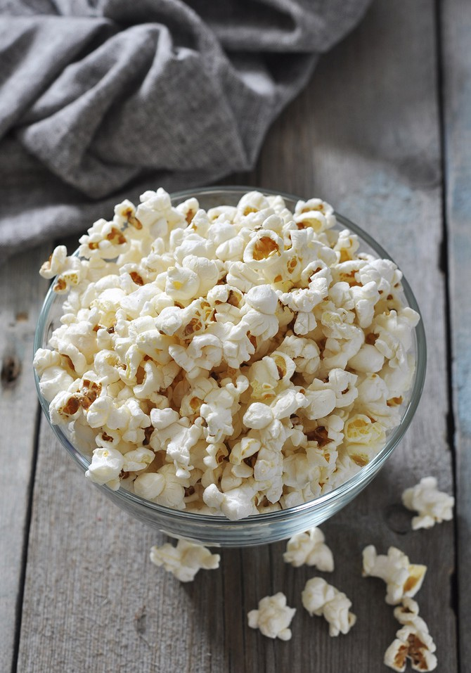 popcorn keeps you full
