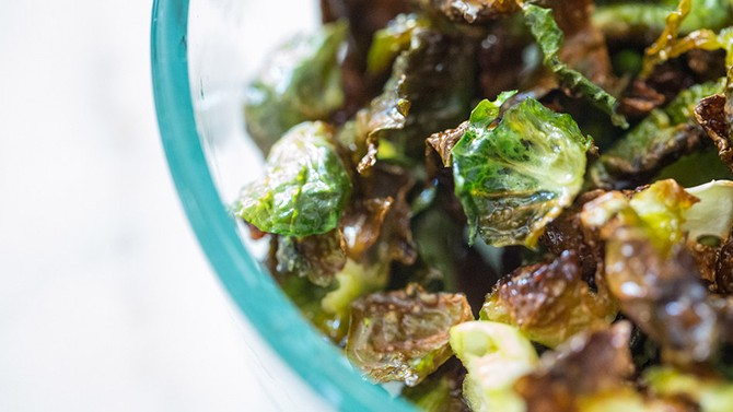 Roasted Brussels-Sprouts Chip