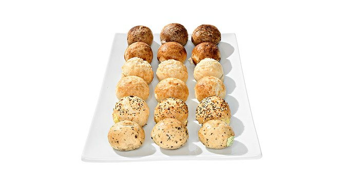 Mini Filled Bagel Balls