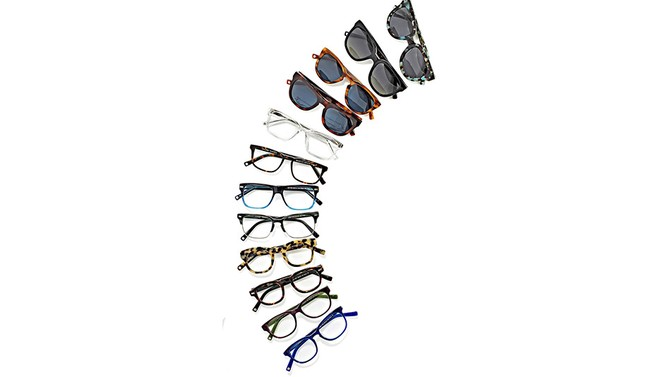 Warby Parker Eyeglasses and Sunglasses