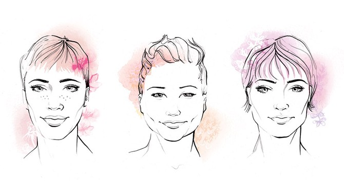 The best short haircuts for your face shape