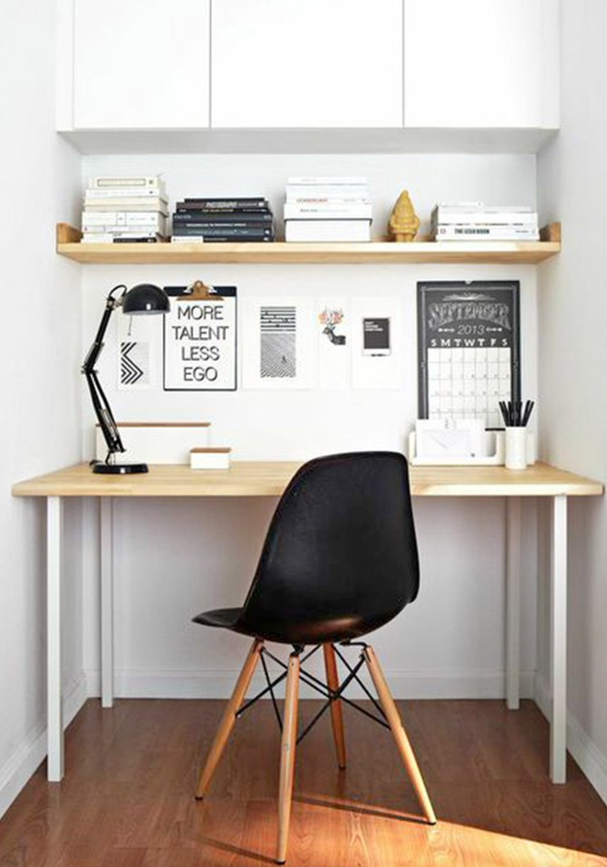 tiny spaces office