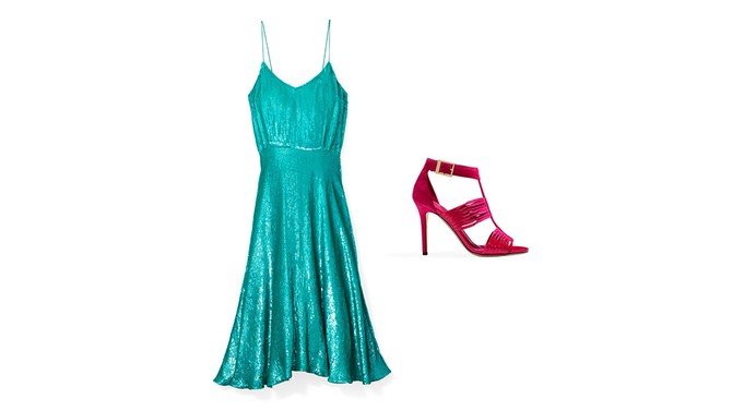 Tracy Reese Turquoise Dress