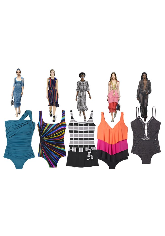 runway swimsuits