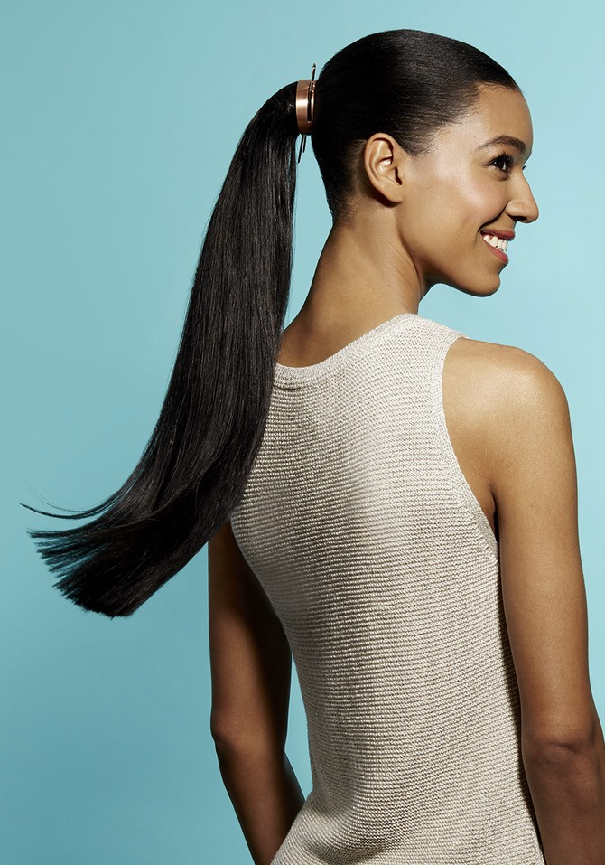 summer hairstyle ponytail
