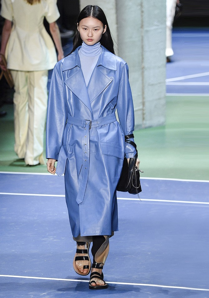 blue coat runway